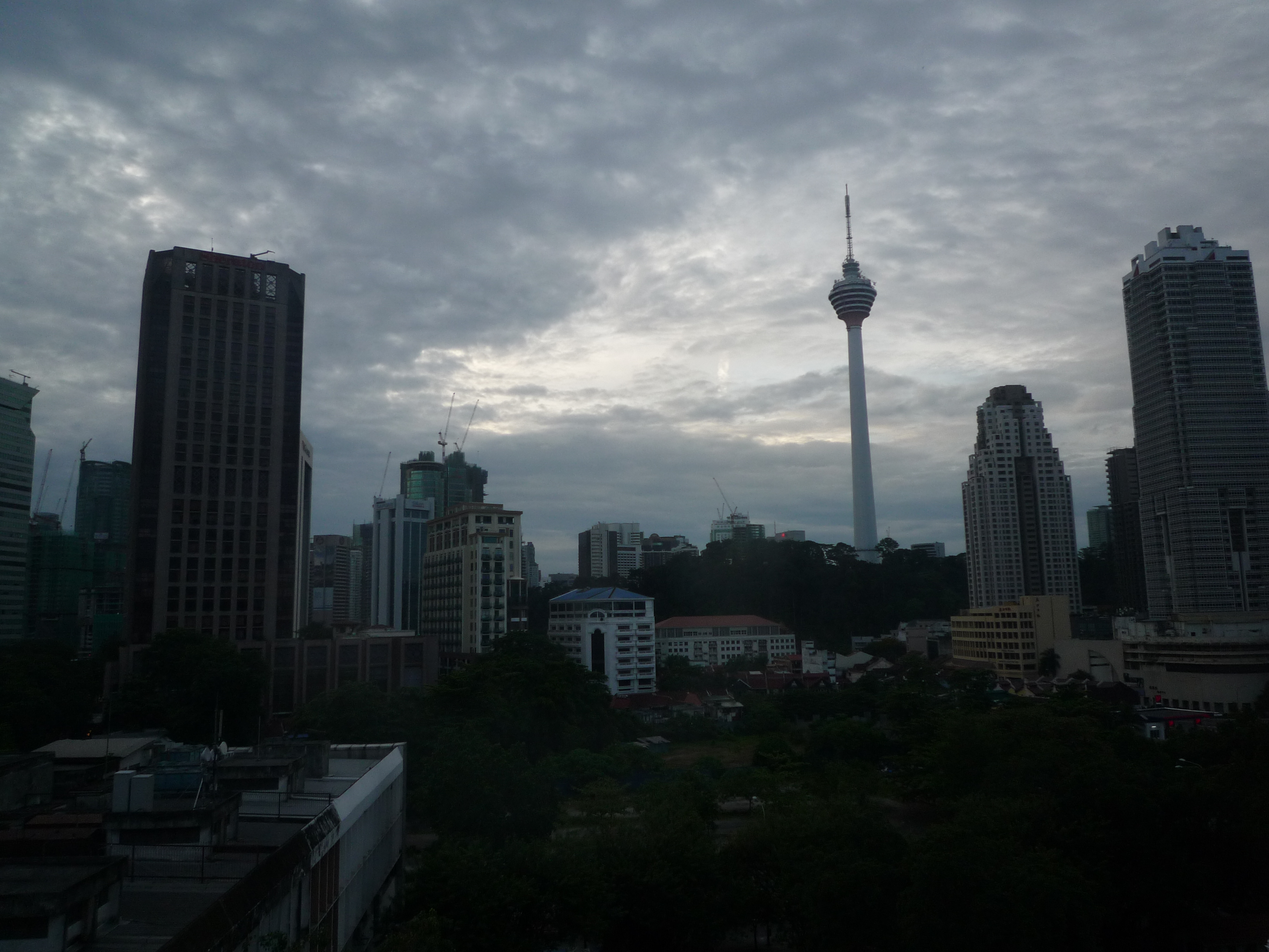 おはよう、マレーシア!