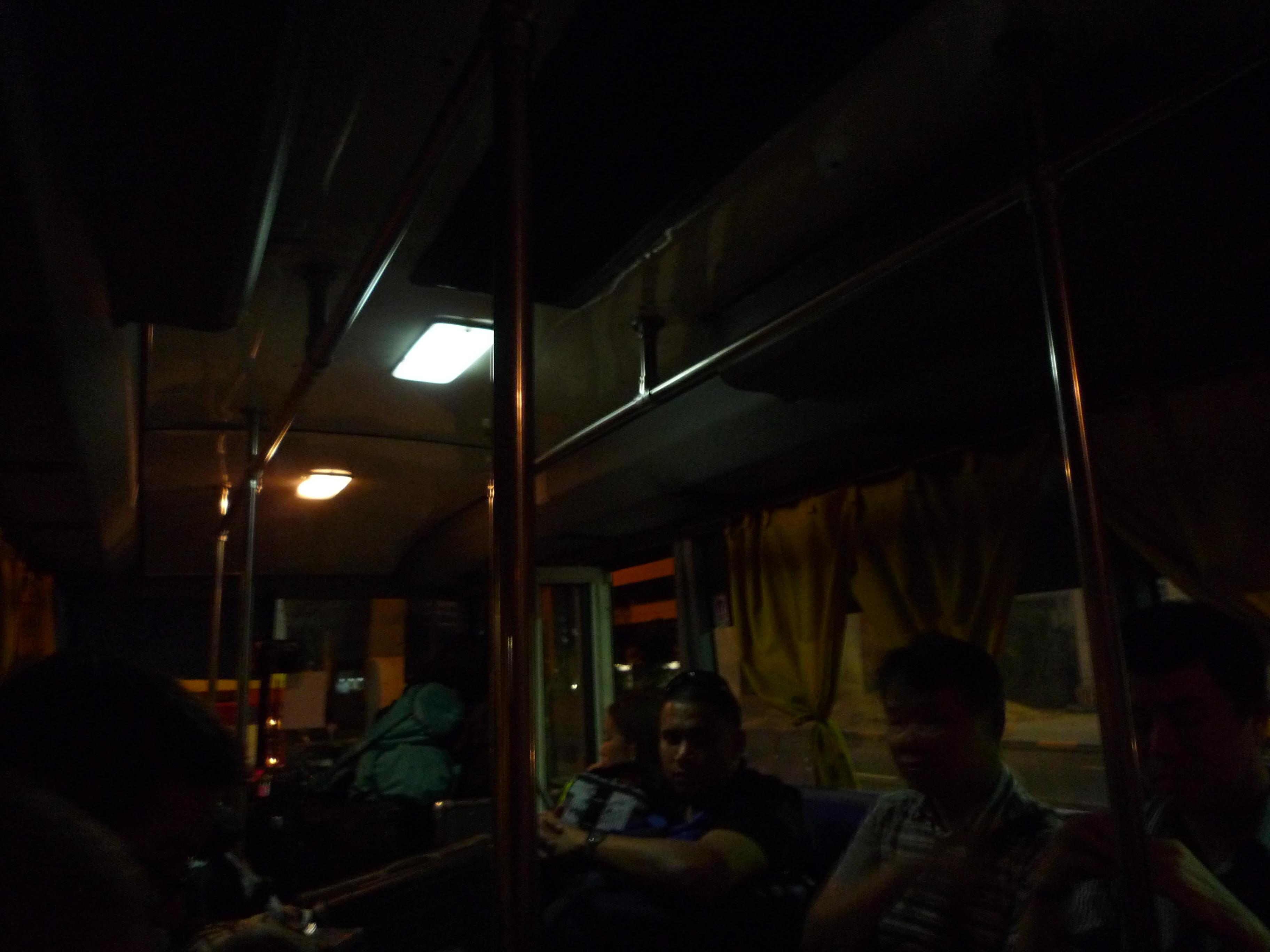 マニラ空港のターミナル ①移動 シャトルバス