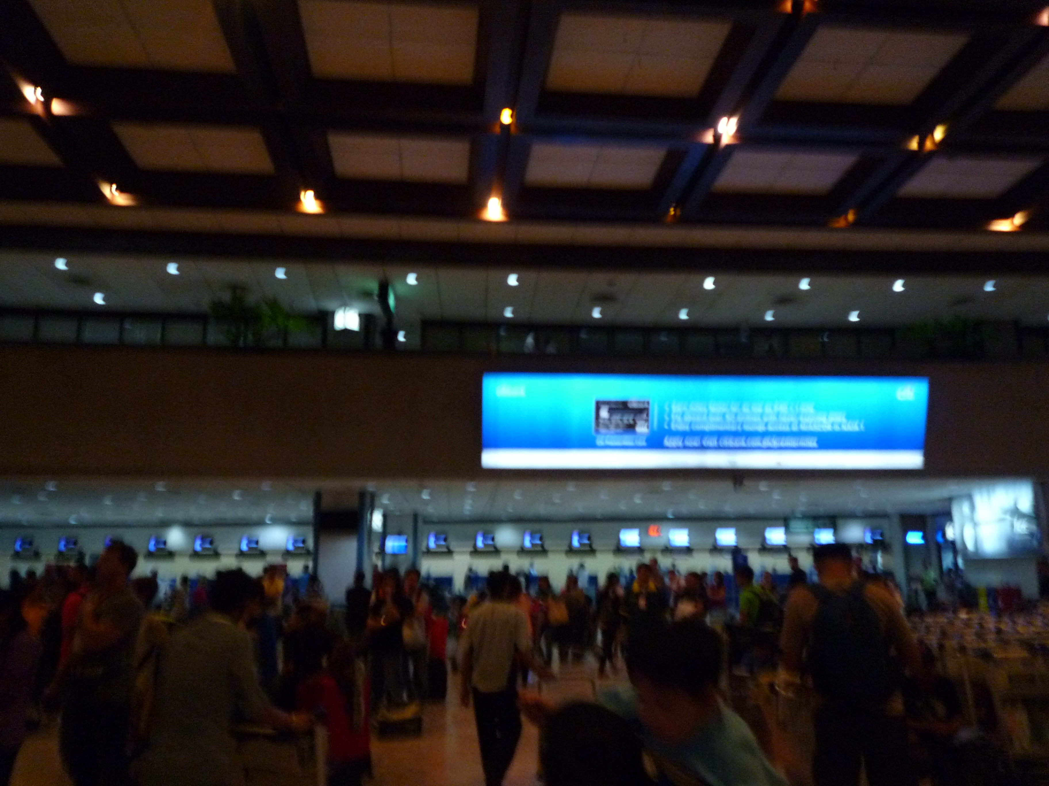 マニラ空港のターミナル ②ワースト空港 理由はT1