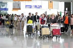 関空で見た老若男女200人超えの中国人旅行者