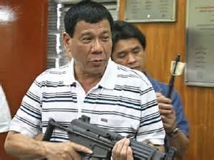 """""""武闘派""""ダバオ副市長は次期大統領の候補@フィリピン"""
