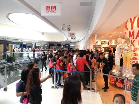 フィリピン・セブに初の「ユニクロ」オープンへ(10月23日)