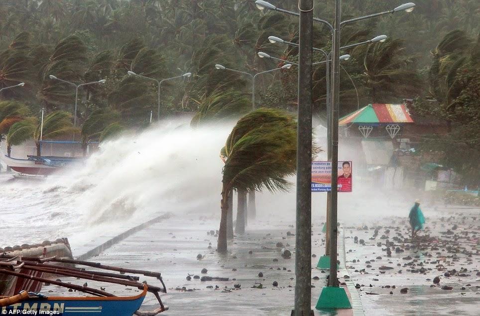 フィリピン・ヨランダ台風の支援で集まった米の袋の一部、腐り埋めたことを政府が認める