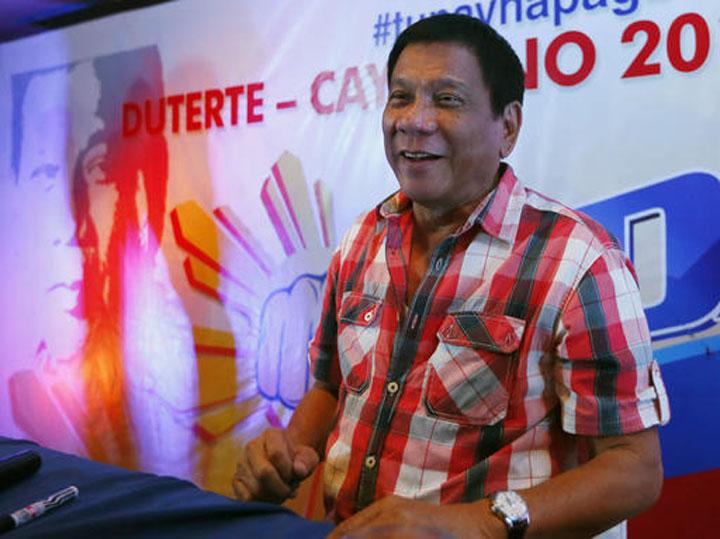 フィリピン、ドゥテルテ氏「2年後を目途に消費税12%から15%」